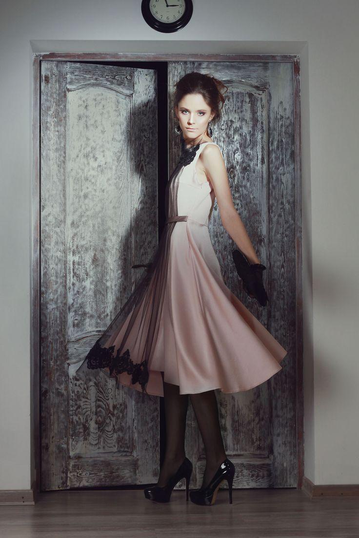 Вечернее платье   в стиле 50-х, винтажные платья.