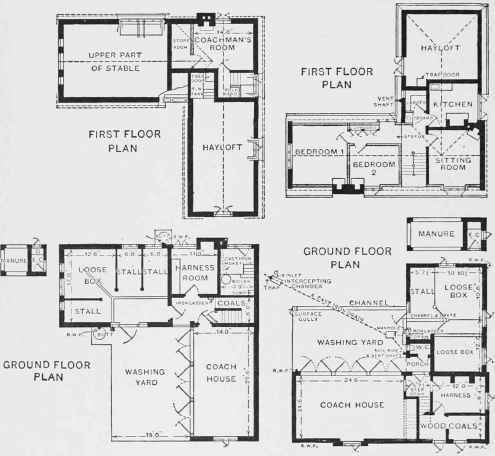 Horseshoe Shaped House Plans Ranch U-shaped House Design Plans ...