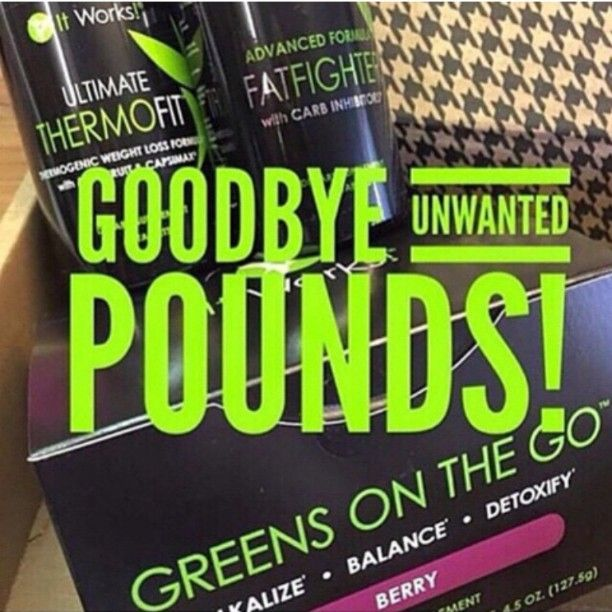 it works triple threat! I'm down one inch after ONE week with these products! Message me on here for more information or at www.allisonjean.itworks.com