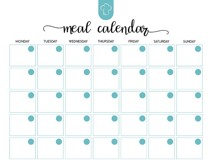 The  Best Free Printable Meal Planner Ideas On   Meal