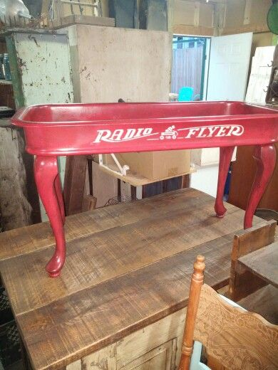 Radio Flyer coffee table