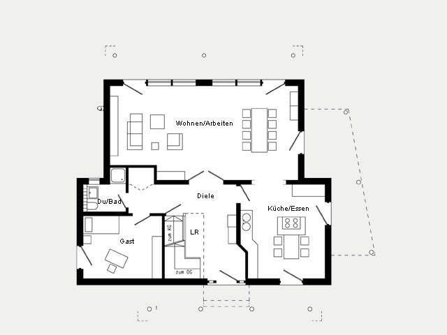 Superior Grundriss Erdgeschoss Musterhaus Bad Vilbel
