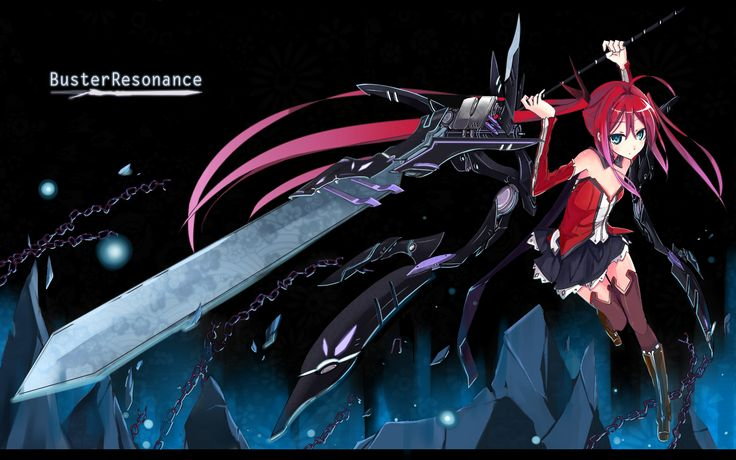 Anime chain whip sword weapon wielding girl wallpaper - Anime girl with weapon ...