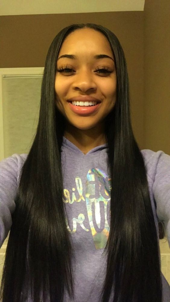 Peruvian Straight Hair Weave 3 Bundles With Lace Closurefactory
