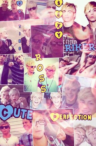Riker & Ross collage made by Kaitlyn's Collages @kaitlynbeasley1