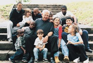 Dave Thomas, adoptee, was the founder of Wendy's and the Dave Thomas Foundation for Adoption.