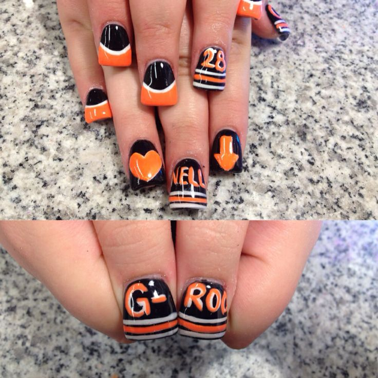 Claude Giroux and Scott Hartnell nails. Wow I love the Hartnell Down reference!!