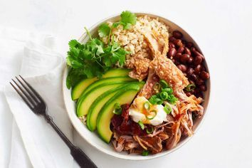 Pulled-pork bowl