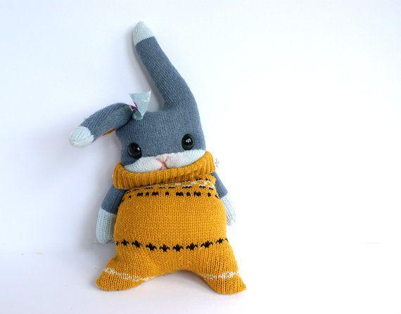 little sock rabbit