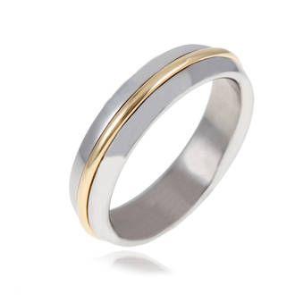 Bague de mariage homme histoire d'or