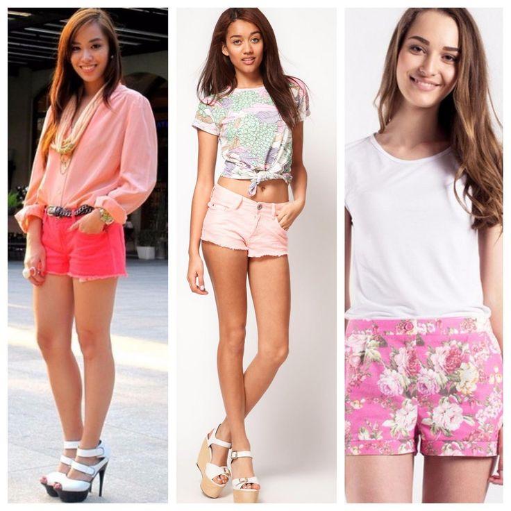 Розовые шорты | by tatet.ua
