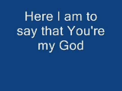 *I am aware that I spelt together wrong. It's too late now, and it cannot be undone.  Slide show of Here I am to Worship by Chris Tomlin with lyrics