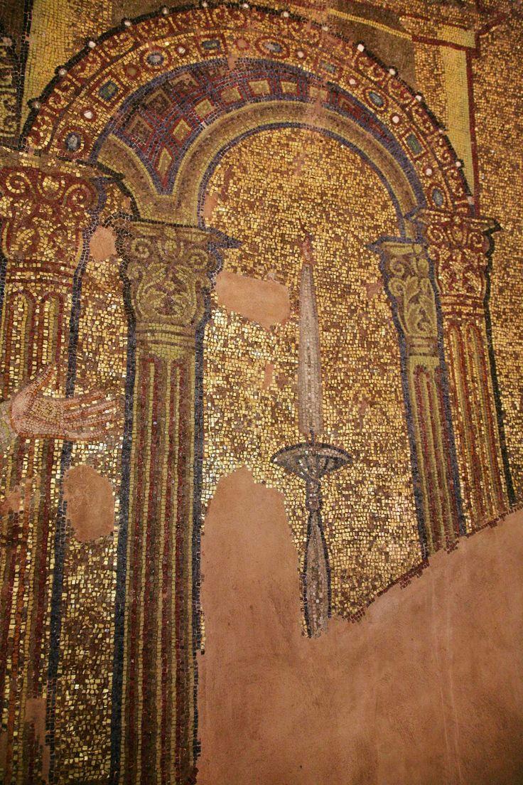 Rotonda di San Giorgio, Salonicco, Grecia, I mosaici della fine del IV -metà del V secolo.