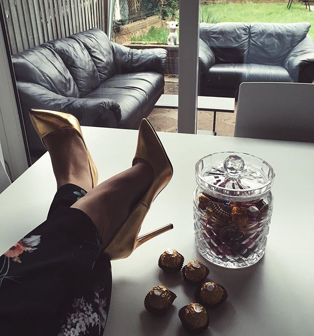 Gold Treats  #shoes #heels #luxirare #fashionblogger #fromwhereistand
