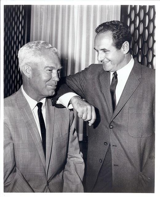 William Hanna 1910-2001 and Joseph Barbera 1911-2006