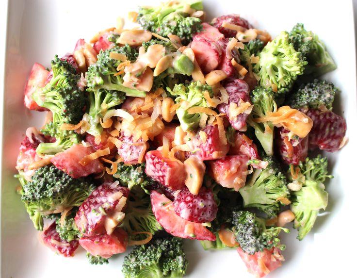 Daniel Plan Strawberry Broccoli Salad