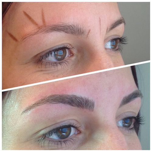 BEFORE & AFTER — utah microblading, hairstrokes, 3d brows ...