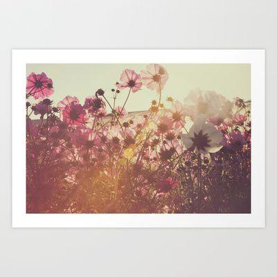 October Blooming 02 Art Print by Around & Around - $15.00