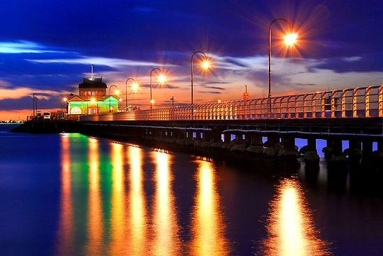 St. Kilda Pier, St. Kilda Melbourne Victoria