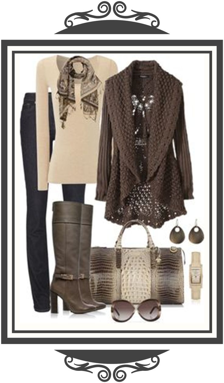 Beautifully styled outfit.