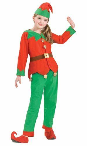 Kids Elf Costume - Christmas Costumes