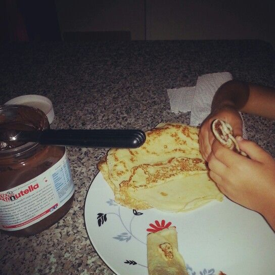 crepes al nutella