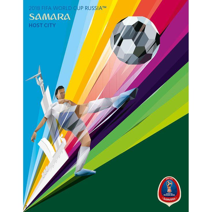 2018 FIFA World Cup Russia™ Samara Poster Soccer world