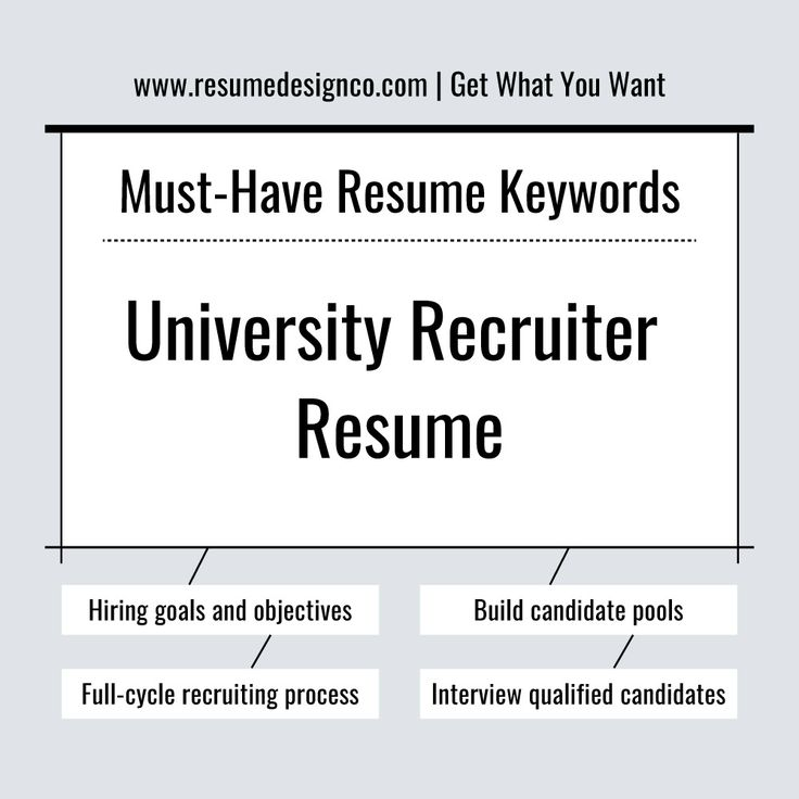 25+ unique University recruiters ideas on Pinterest Career path - how to write a short resume