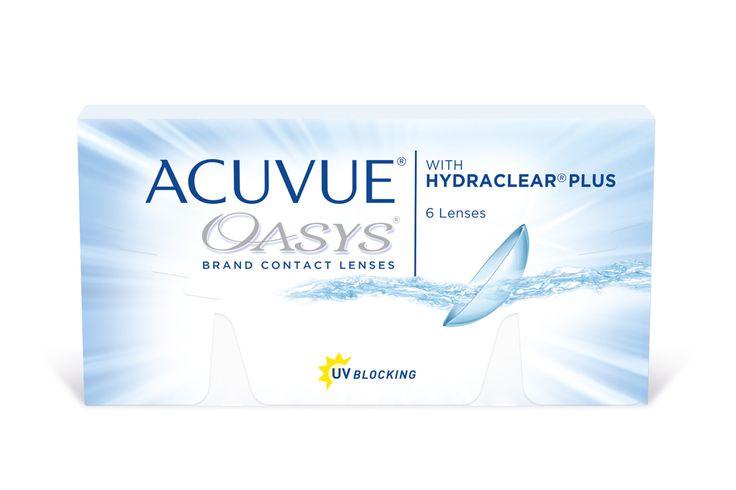 Die Acuvue Oasys mit Hydraclear Plus Kontaktlinsen sind bestens geeignet für trockene Augen - fast so als würden man gar keine Kontaktlinsen tragen. Acuvue Oasys mit Hydraclear Plus sind ideal geeignet, wenn man sich ein kontaktlinsenfreies Gefühl wünscht, viele Stunden am Computer arbeitet und viel Zeit in beheizten oder klimatisierten Räumen verbringt.(Kontaktlinsen mit UV-Schutz ersetzen keine Sonnenbrille!)