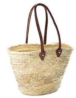 French Market Basket - Mediterranean - Baskets - by Indigo&Lavender $30
