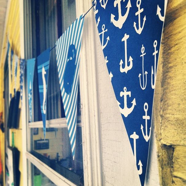 Project 365 Things // Day 238 // Free Nautical Banner Printables - Patti Murphy Designs