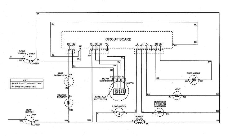 Unique Bosch Dishwasher Motor Wiring Diagram #diagram #