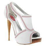 HERSTAR™ Women's Baseball High Heel (baseball high heels, baseball shoes, baseball womens apparel) | Novelty Heels | HERSTAR