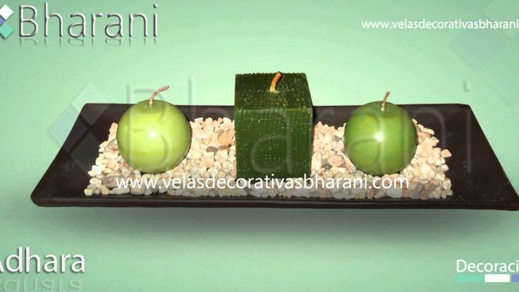 Velas decorativas bharani, centros de mesa, decoracion con velas, velas ...
