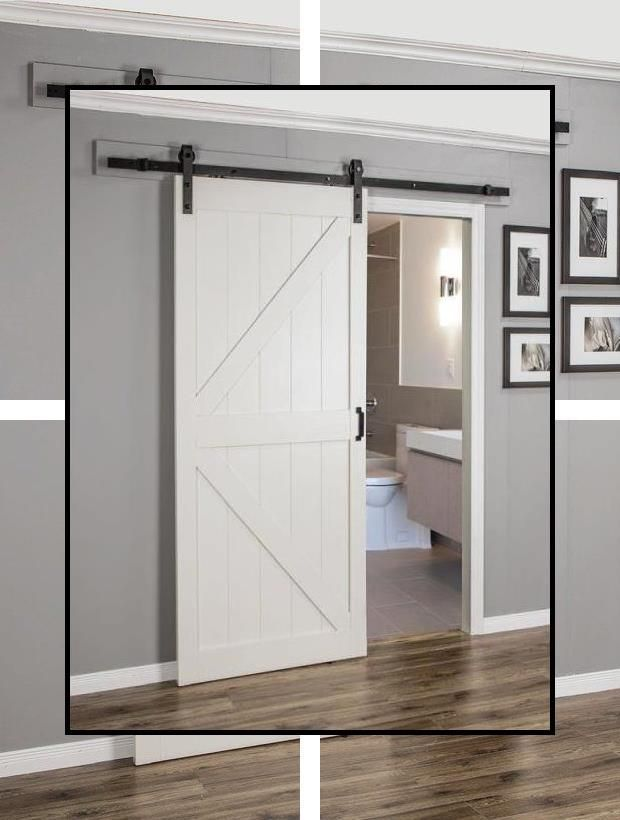 Interior Barn Door Track System Barn Door Rail Track Rustic Sliding Door Track In 2020 Glass Doors Interior Wood Doors Interior Rustic Doors
