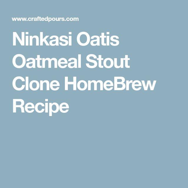 Ninkasi Oatis Oatmeal Stout Clone HomeBrew Recipe
