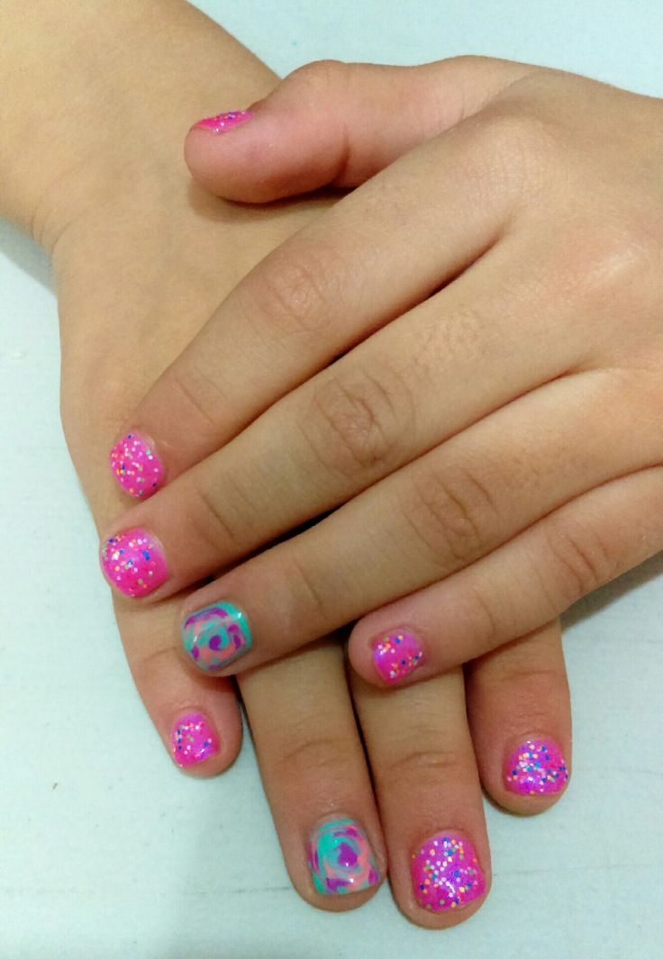17 Best Ideas About Little Girl Nails On Pinterest