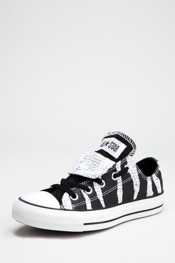 Chuck Taylor Double Tongue Ox Sneaker by Converse - I feel like my life would be complete if I owned these.