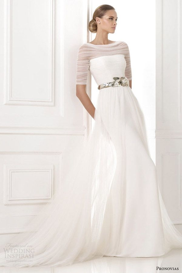 Check Out Long Sleeve Wedding Dresses 2015. Over the past few months long-sleeved wedding gowns have been seen popping up in bridal collections across the globe, clearly set to be another one of the seasons biggest trends.