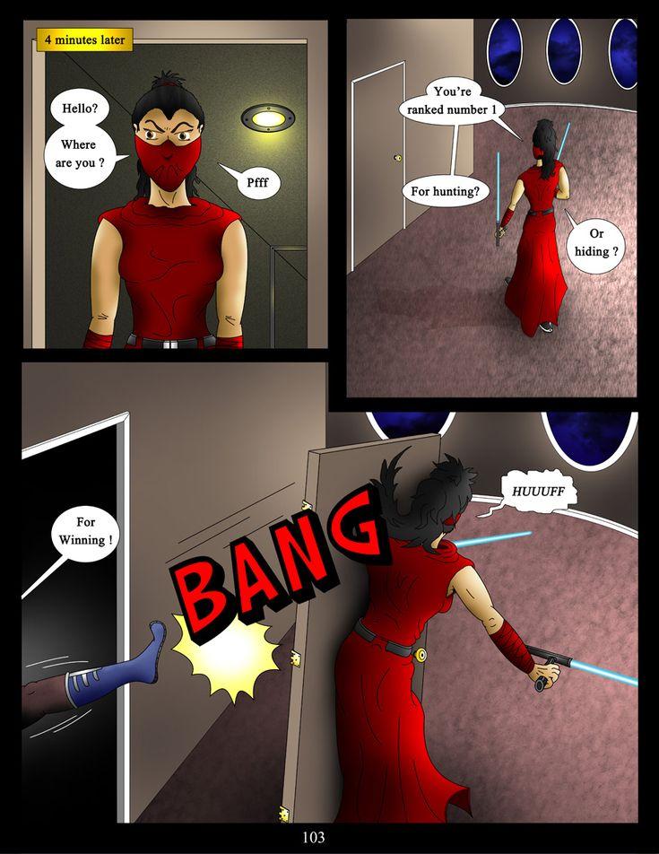 page 103  #akacyathebountyhunter #webcomic #comic