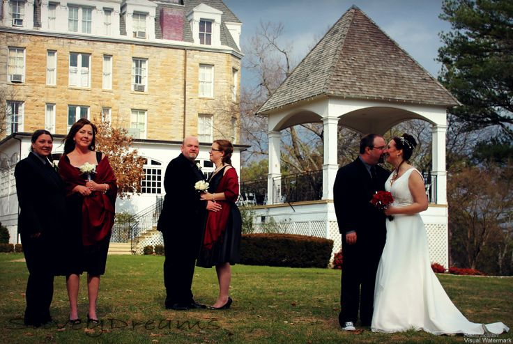 Married at the 1886 Crescent hotel(Americas most haunted hotel)