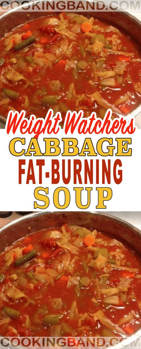 Cabbage Fat-Burning Soup | COOKING BAND