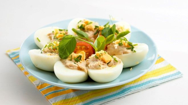 Täytetyt kananmunat - K-ruoka