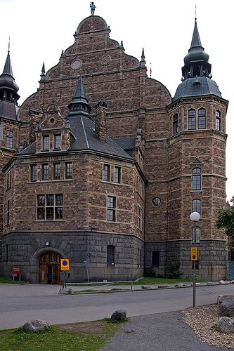 Stockholm, Sweden:    The Nordic Museum. #travel