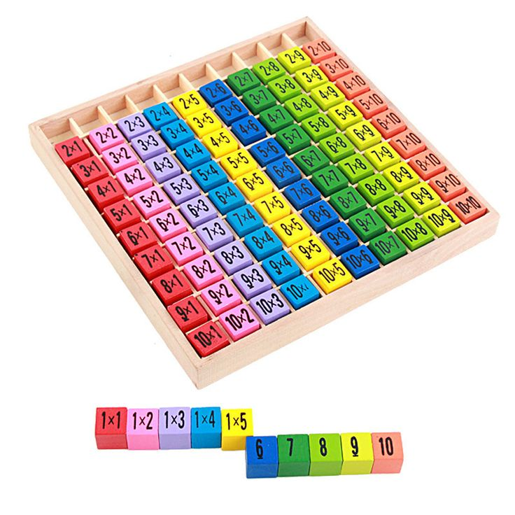 New Arrival Educational Toys 99 Multiplication Table Math ...