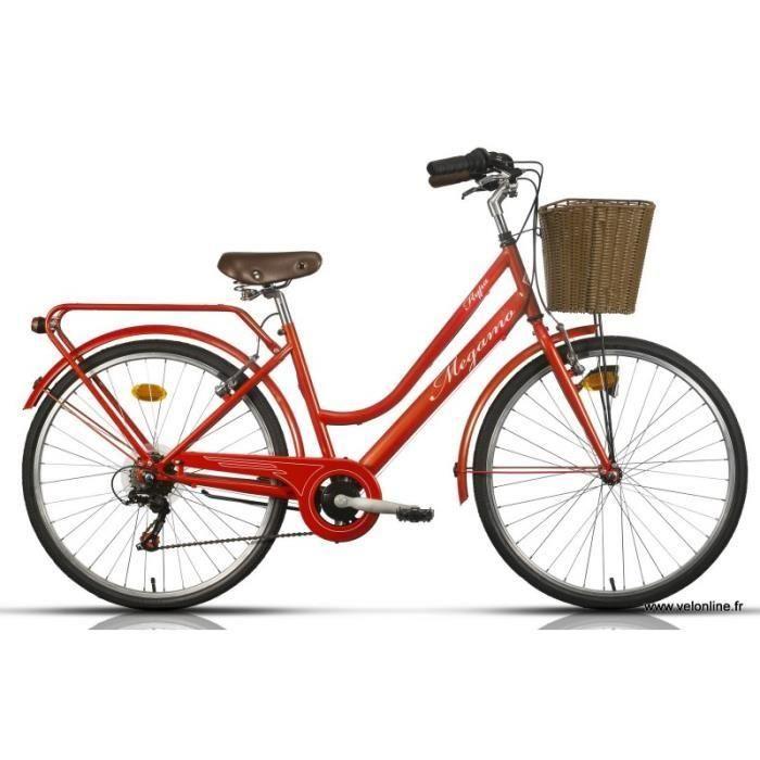 Velo de Ville Go Sport promo Vélo VTC Adulte FLYPA 26po Couleur Rouge GO SPORT prix promo Go Sport 239.00 €