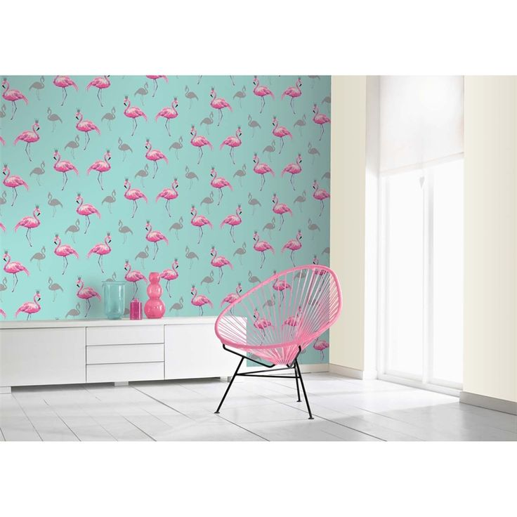 Find Arthouse Flamingo Queen Pink Teal Wallpaper at Homebase. Visit your local store for the widest range of paint & decorating products.