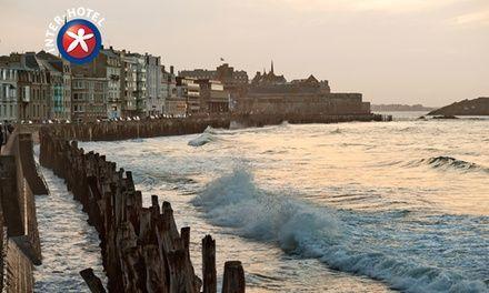 Saint Malo : 1 à 3 nuits avec petits déjeuners et accueil breton en chambre à l'INTER-HOTEL du Louvre pour 2 personnes