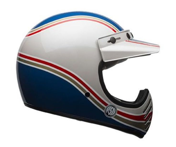 RSD adds more retro flavor to the Bell Moto 3 helmet.