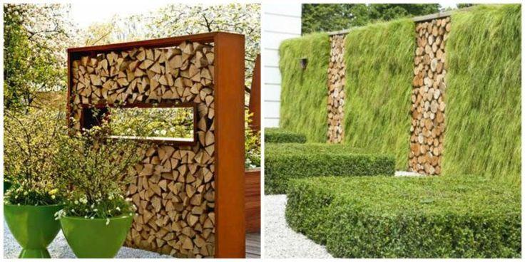 Idée de clôtures de jardin en bois